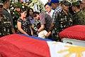President Rodrigo R. Duterte condoles with the relatives of the 15 soldiers killed in Abu Sayyaf encounter.jpg