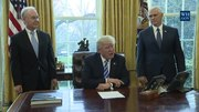 File:President Trump Makes a Statement on Healthcare Law.webm