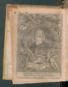 Calderón de la Barca's portrait, in Primera parte de Comedias verdaderas (1726) (Source: Wikimedia)