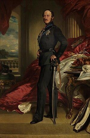 Albert, Prince Consort - Image: Prince Albert of Saxe Coburg Gotha by Franz Xaver Winterhalter