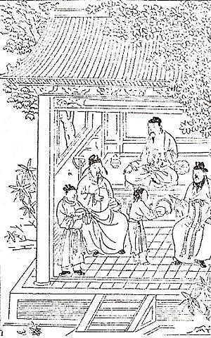 Hu Sihui - Image: Principles of Correct Diet, Yuan Dynasty, 1330