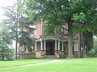 Women's shelter - Pringle-Patric House, one of the first women's domestic violence shelter in the United States, built in 1877