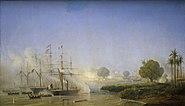 Prise de Saigon 18 Fevrier 1859 Antoine Morel-Fatio