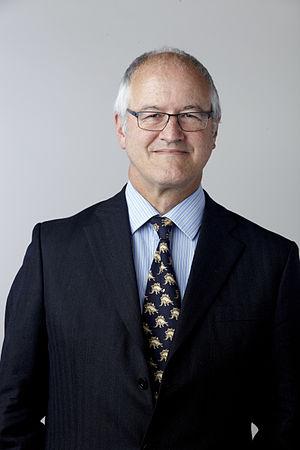 Michael Benton - Michael Benton in 2014, portrait via the Royal Society