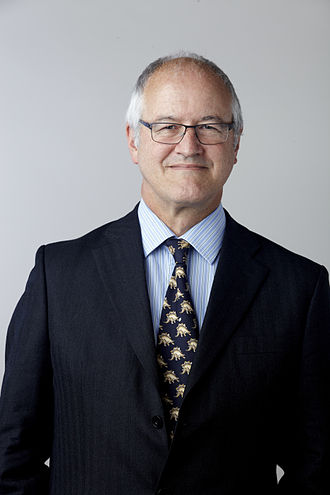 Michael Benton - Michael Benton at the Royal Society admissions day in London in 2014
