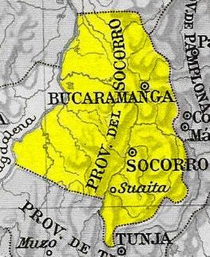 Socorro Province - Image: Provincia Socorro