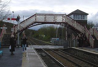 Prudhoe railway station English railway station