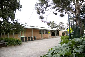 Presbyterian Theological College - Main building of the PTC's current Box Hill campus.