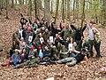 Puckon 2009 - goblińskie plemiona walczące o Tron Wszechglutodzierżcy w komplecie.jpg