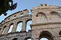 Pula Arena, Roman Amphitheatre, Colonia Pietas Iulia Pola Pollentia Herculanea, Histria (10384434043).jpg