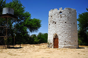 Otjimbingwe - Powder Tower in Otjimbingwe, built by the inhabitants in 1870 as a fortified tower