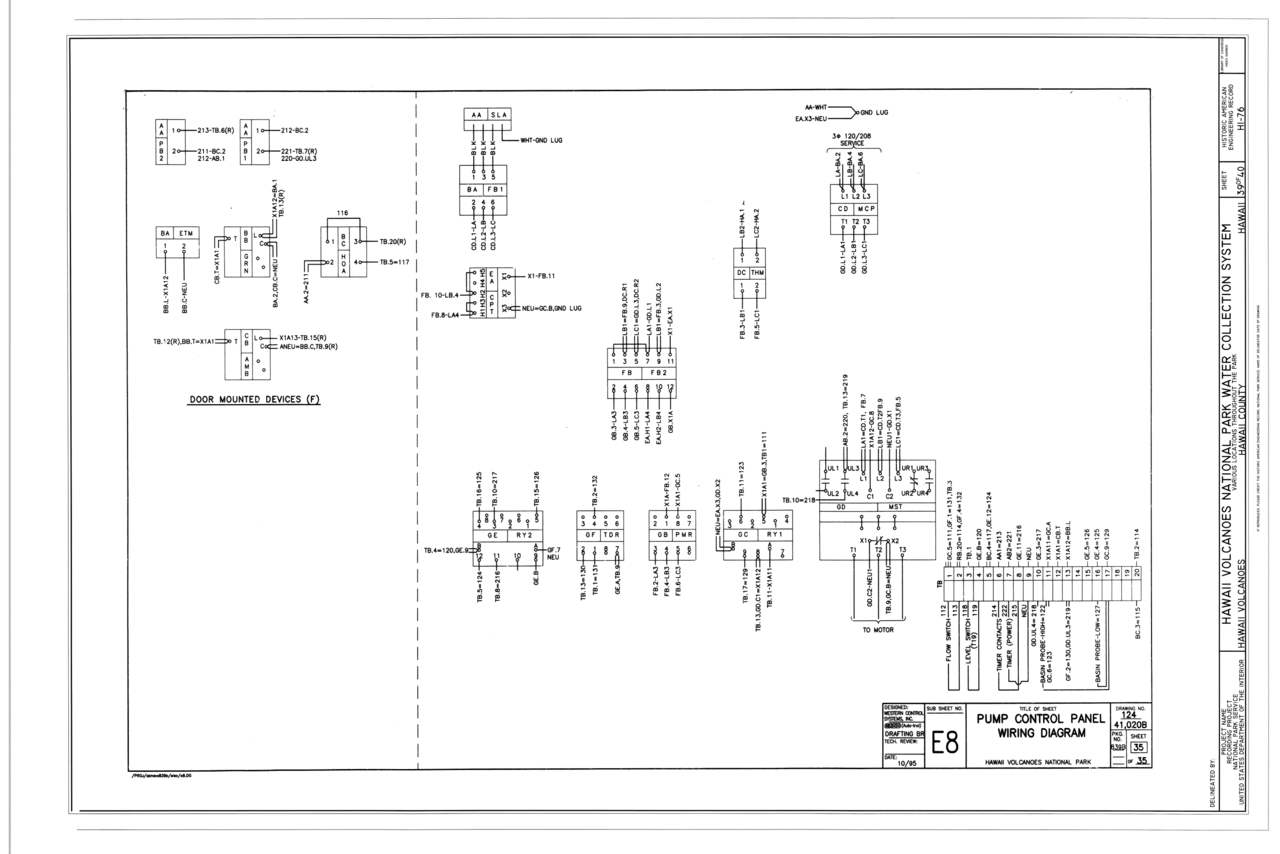File Pump Control Panel Wiring Diagram