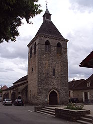 The church of Saint-Blaise