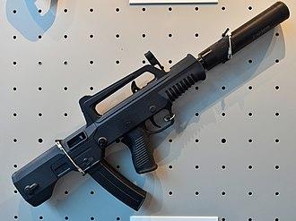 QCW-05 - QCW05 - 5.8mm submachine gun