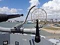 Quad 40mm bofors USS Lexington gun sight.jpg