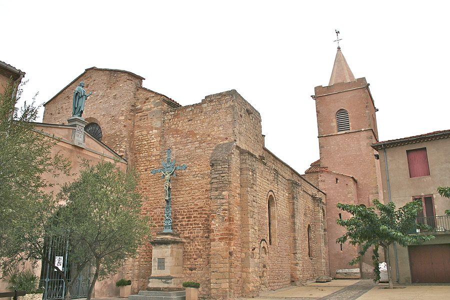 Quarante (Hérault) - église Sainte-Marie