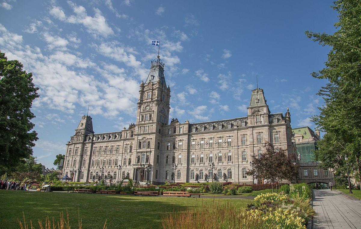 Parliament building quebec wikipedia for Hotel design quebec