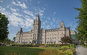 Parliament Building (Quebec) - Parliament Building, in Quebec City