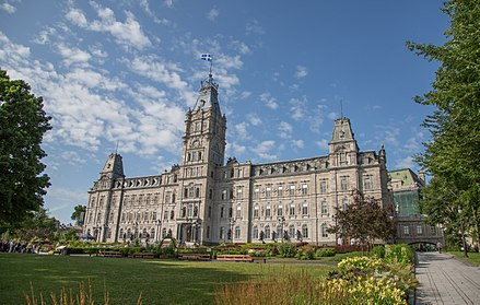 The Parliament Building in Quebec City Quebec City (14765614666).jpg