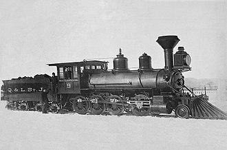 François Langelier - Quebec and Lake Saint-John Railroad Locomotive Number 9, Named for the Honorable François Langelier