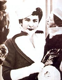 Queen Farida in the French Culture center.jpg