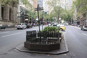 Queen Street, Melbourne - A classic underground toilet on Queen Street