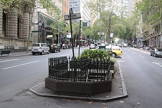 Melbourne City Centre - A public underground toilet on Queen Street