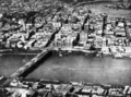 Queensland State Archives 168 Aerial view of the Brisbane central business district showing Victoria Bridge and the Brisbane River c 1932.png