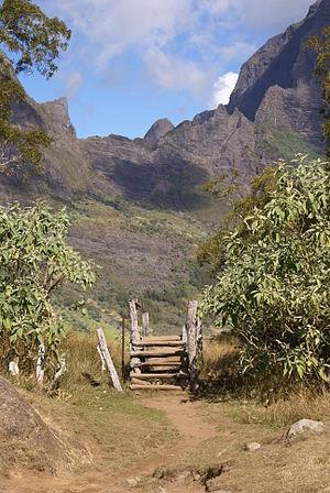 Mafate - Path between Marla and Plaine des Tamarins