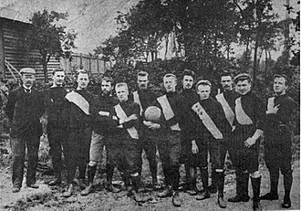 RC Roubaix - First known picture of RC Roubaix (c. 1895).