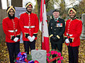 RMC Sikh cadets at annual SIkh Remembrance Day service.jpg