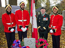 Cadets Of The Royal Military College Canada In Dress Uniform Sikh Are Allowed To Wear Their Head Covering