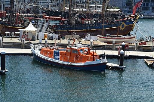 RNLI lifeboat at ANMM