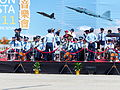 ROCAF Officers Talking on Stand in Opening Ceremony 20130601.jpg