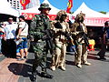 ROCMC Special Force Team Standing behind 66th Brigade Recuritment Booth 20140906.jpg