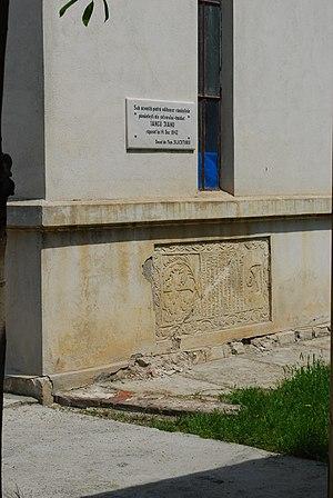 Iancu Jianu - Jianu's tombstone in Caracal