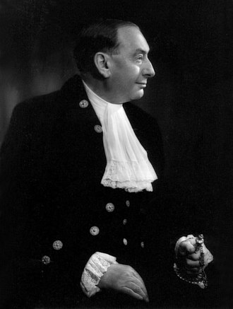 Court uniform and dress in the United Kingdom - Gentleman wearing Court dress, 1953.