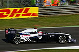 Photo de la Williams FW33 de Rubens Barrichello