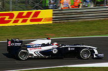 Photo de Rubens Barrichello à Monza en 2011