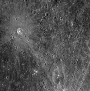 Raden Saleh (crater) - Image: Raden Saleh crater