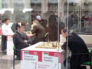 Teimour Radjabov - Radjabov against Veselin Topalov in Bilbao, 2008
