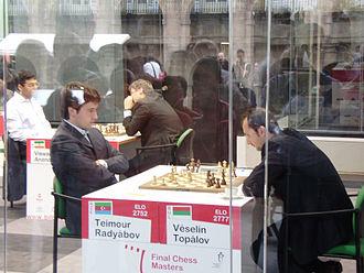 Teimour Radjabov - Radjabov versus Veselin Topalov in Bilbao, 2008
