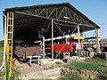 Railway coaches at Mátravasút depot. - Gyöngyös.JPG