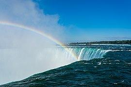 Rainbow Above Horseshoe Falls (Niagara Falls).jpg