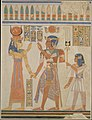 Ramesses III and Prince Amenherkhepeshef before Hathor MET DT11787.jpg