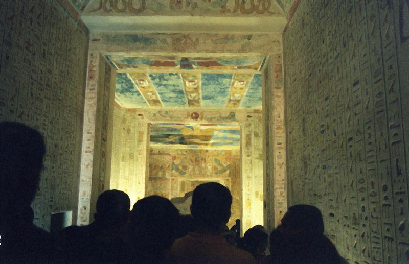 KV2 grobowiec Ramzez IV