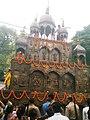 Rath Jatra Festival ( Chariot Festival) of Searsole Rajbari, West Bengal, India.jpg