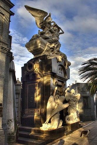 José C. Paz - Tomb of José C. Paz in the Recoleta Cemetery in Buenos Aires