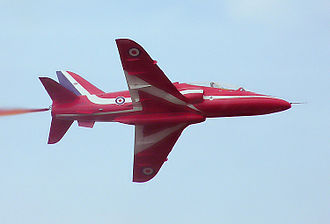 BAE Systems Military Air & Information - A Hawk of the Red Arrows