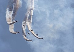 Red Arrows Radom 2009 b.JPG